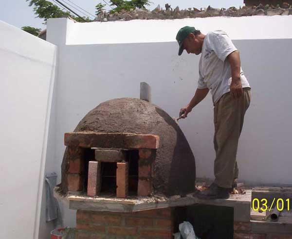 Realizaciones hornos de barro for Como construir un horno