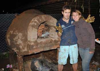 El horno de barro for Como hacer un horno de lena de hierro