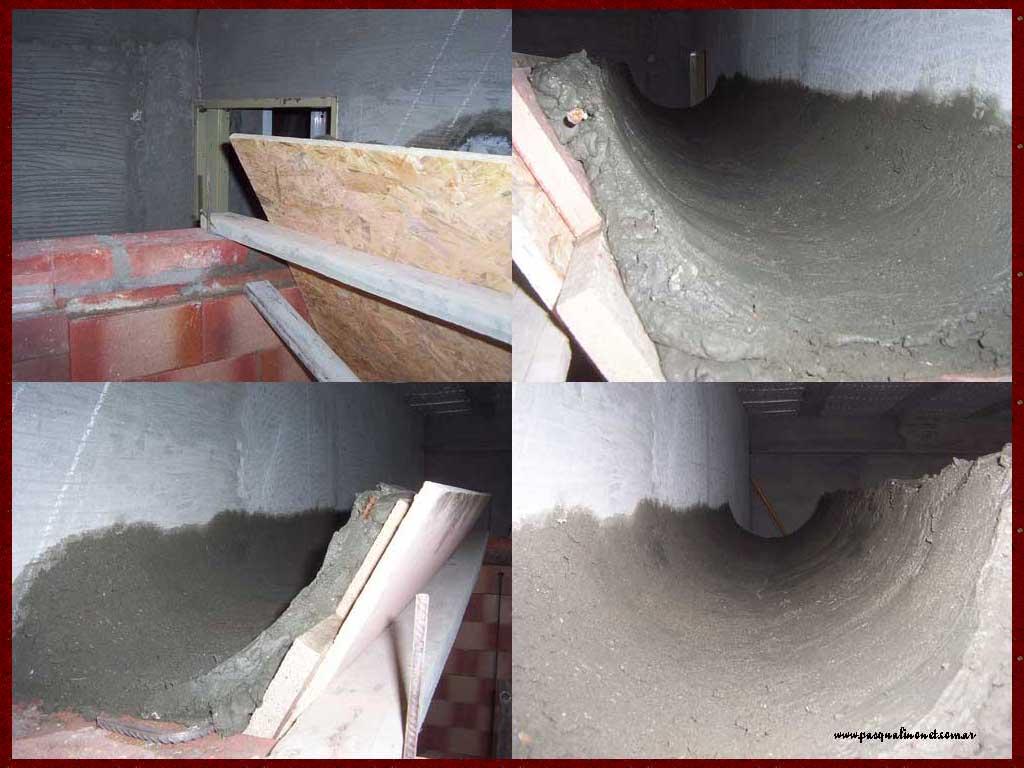 Parrillas construidas - Como hacer una chimenea de obra ...