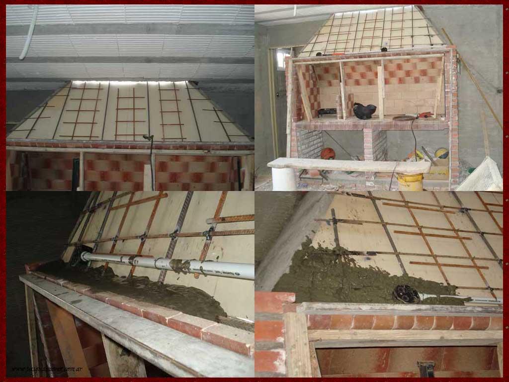 Parrillas construidas Construir una pileta de ladrillos