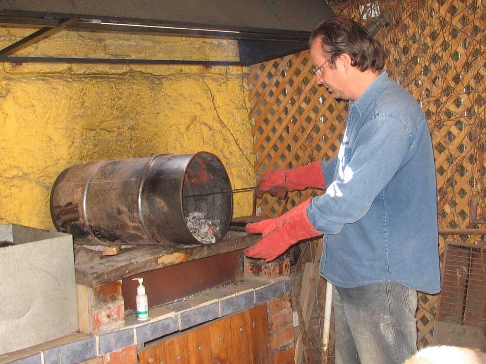 Horno ariel for Como hacer un horno de lena de hierro