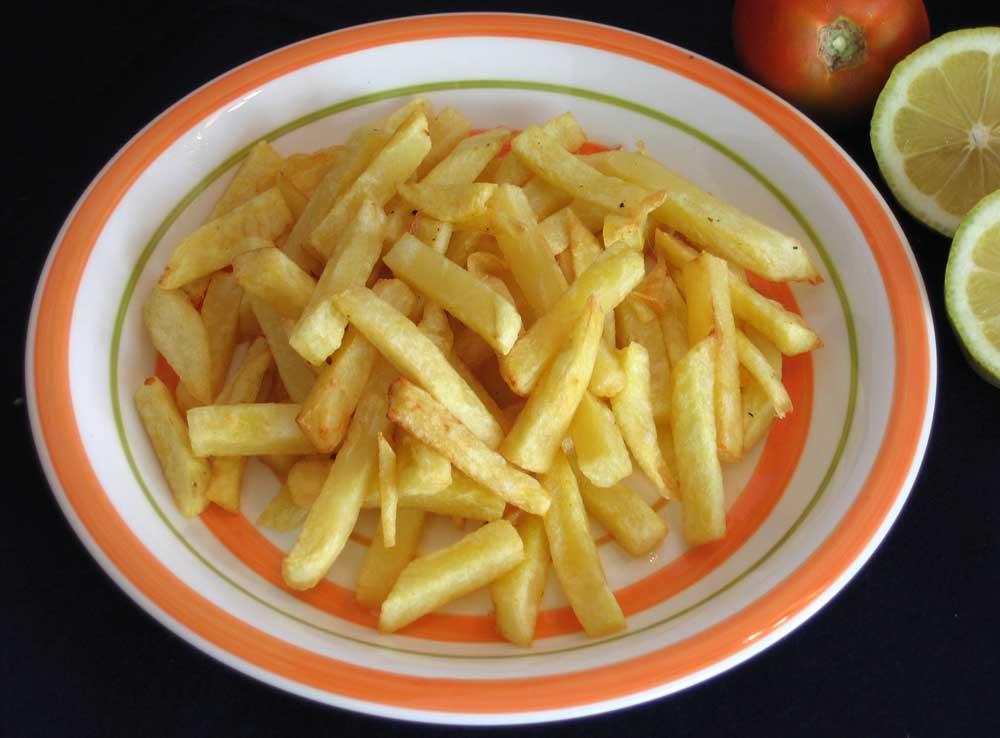 La incidencia de las papas fritas en el sobrepeso