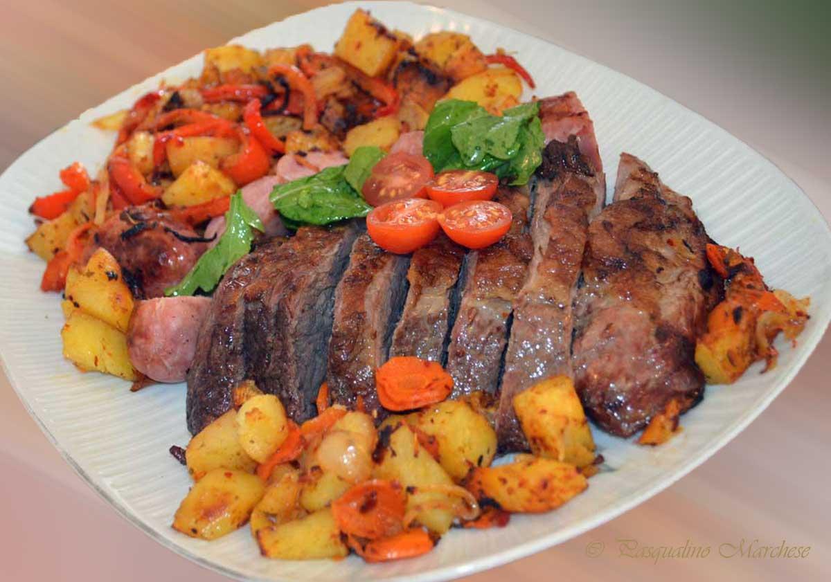 Carnes - Verduras rellenas al horno ...